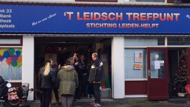 Gemeente komt Stichting Leiden-Helpt tegemoet