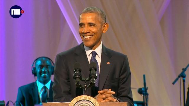 Obama 'gaat niet twerken' bij Musical Event in Witte Huis