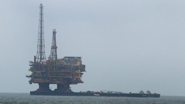 Gaslek op productieplatform Shell in Noordzee