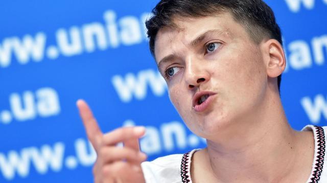 Oekraïense piloot toch weer in hongerstaking