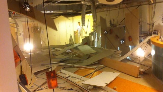 Deel plafond van ziekenhuis in Venlo stort in