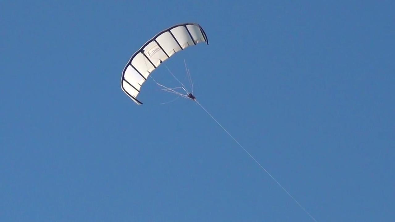 Energie uit vliegers moet missies Defensie verduurzamen