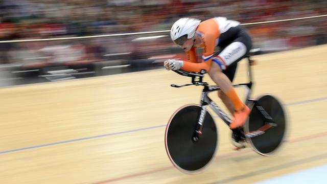 Beukeboom kan bronzen medaille prolongeren bij EK baanwielrennen