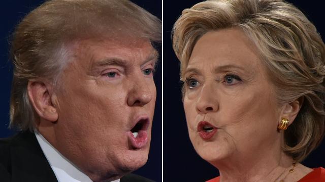 Overzicht: De standpunten van Clinton en Trump