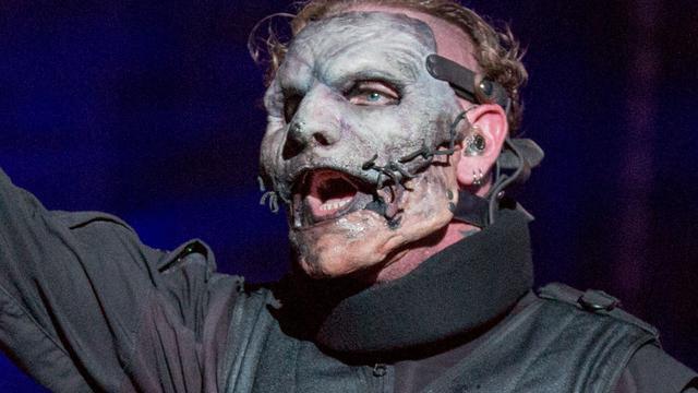 Slipknot-zanger had ruggenmergletsel zonder het zelf door te hebben