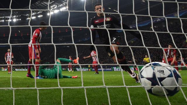 Samenvatting Bayer Leverkusen-Atletico Madrid (2-4)
