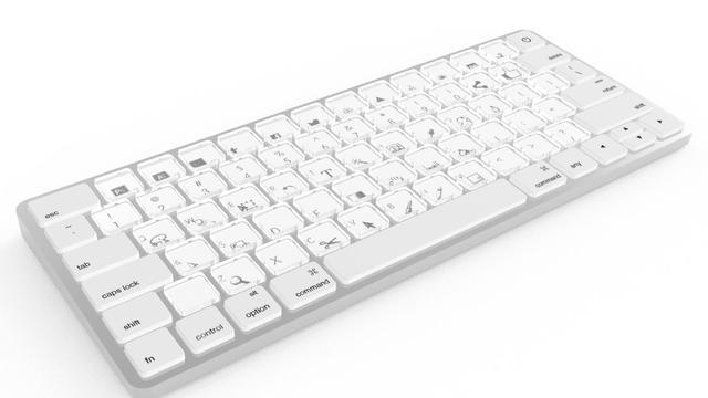 'MacBook krijgt in 2018 aanpasbaar e-ink-toetsenbord'