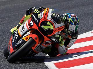 Italiaanse Moto2-coureur heeft alleen hersenschudding