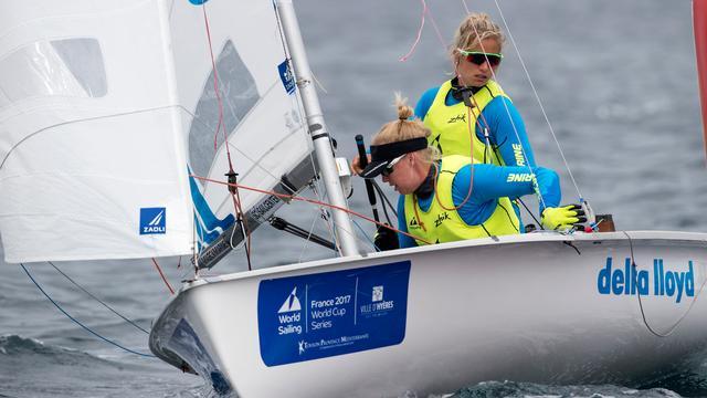Zeilsters Zegers en Van Veen pakken Europese titel in 470-klasse