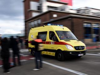 Slachtoffer is overgebracht naar het ziekenhuis