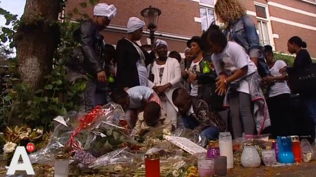Tientallen aanwezigen bij stille tocht doodgestoken jongerenwerker Romano