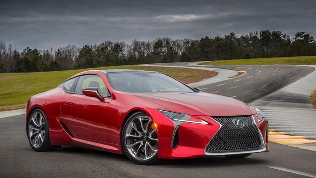Lexus presenteert LC 500