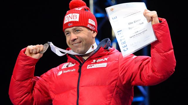 Biatlonlegende Björndalen (42) gaat door tot Spelen van 2018