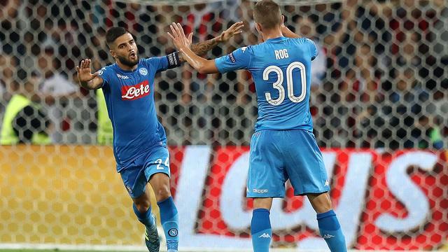 Insigne beslist duel definitief in het voordeel van Napoli
