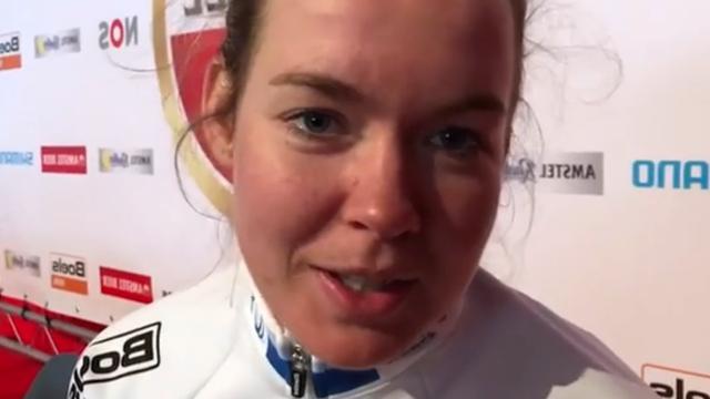 Winnares Van der Breggen had kippenvelmoment op overvolle Cauberg