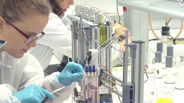 Nieuwe bioprinter kan levende huid printen