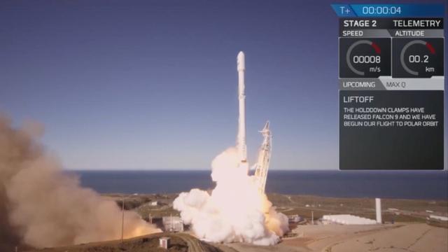 SpaceX lanceert eerste Falcon-raket sinds ongeluk