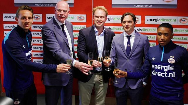 Energiedirect volgt Philips op als shirtsponsor PSV