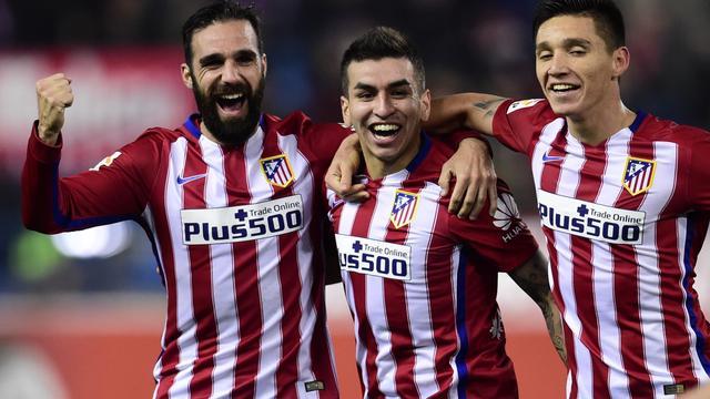 Atletico Madrid en Valencia naar kwartfinales Copa del Rey