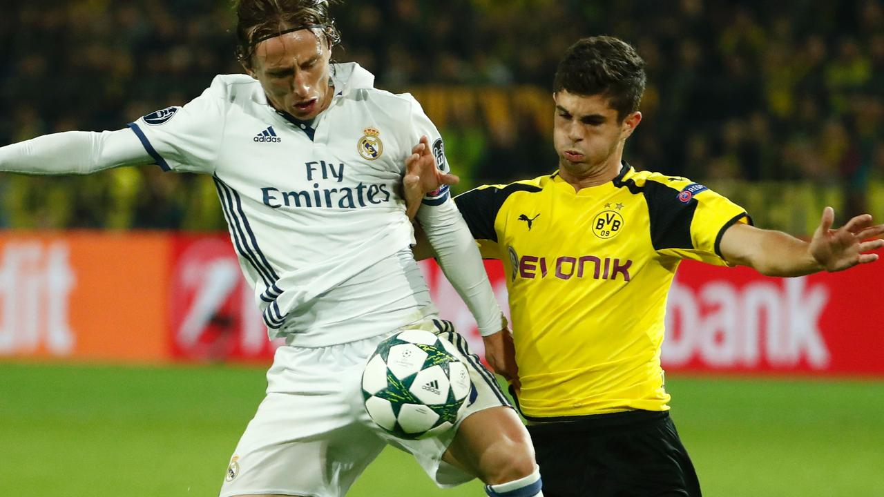 Samenvatting Borussia Dortmund-Real Madrid (2-2)