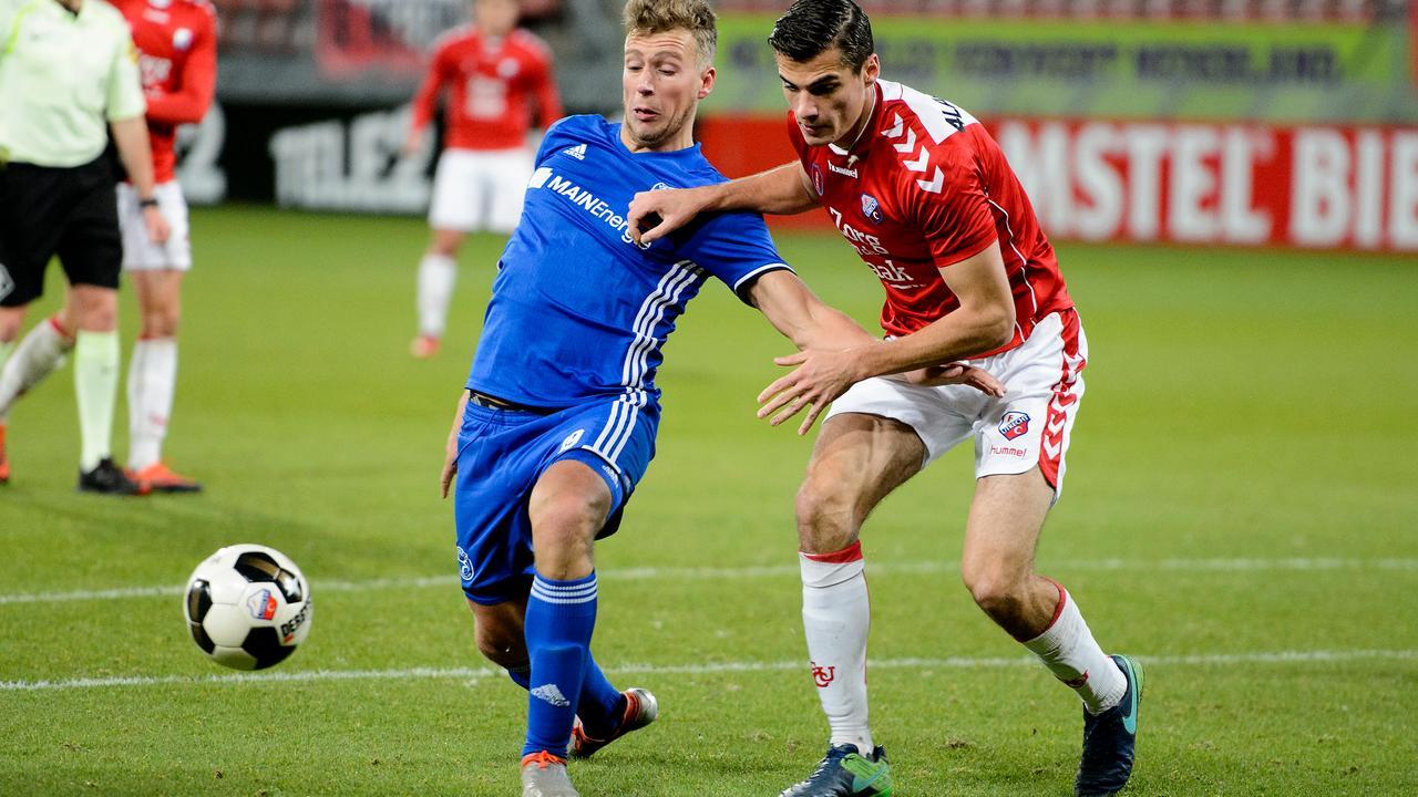 Samenvatting Jong FC Utrecht-Almere City FC (1-1)
