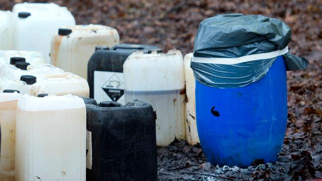 'Steeds vaker drugsafval gedumpt in Gelderland'