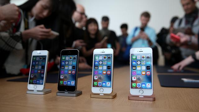 'iPhone SE kost ongeveer 140 euro om te maken'