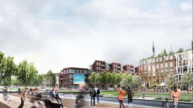 Utrecht kiest voor veel hoogbouw en groen in nieuw centrum