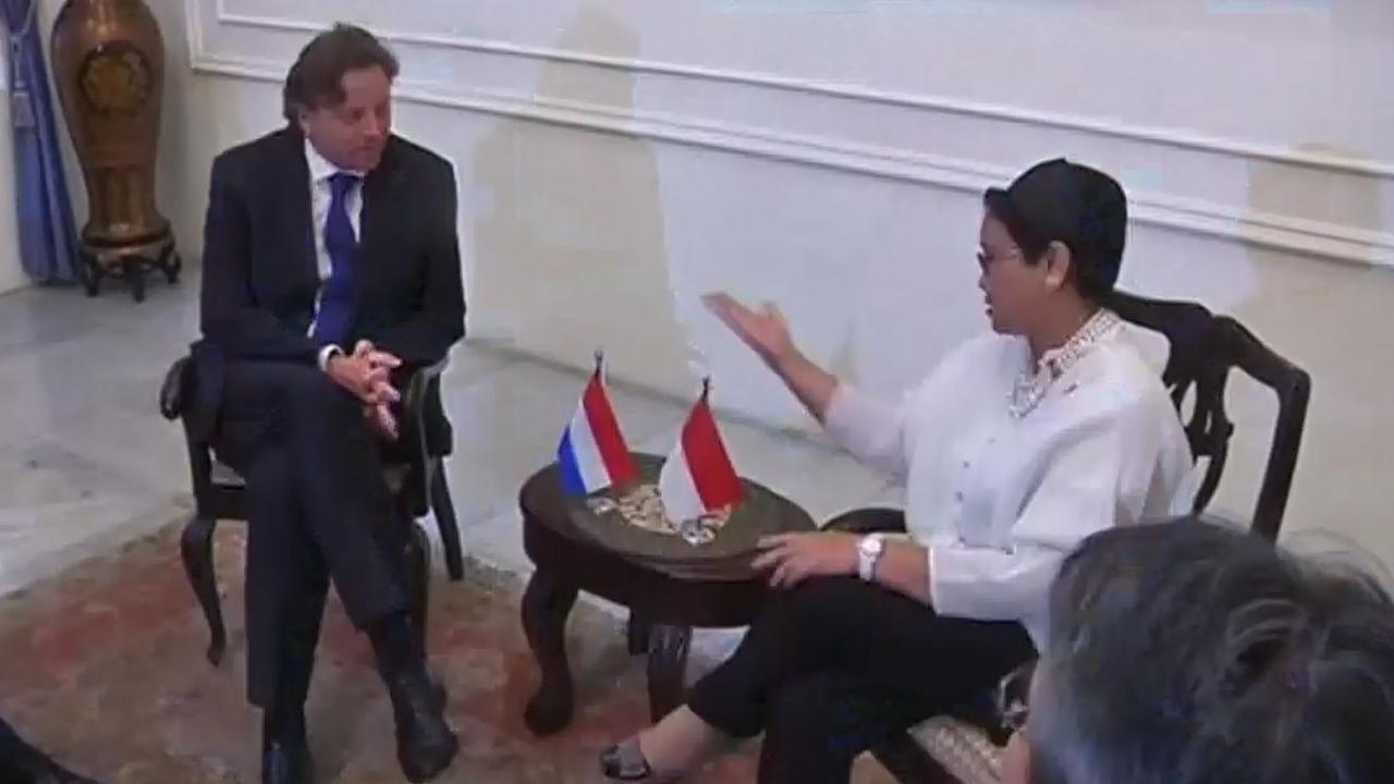 Minister Koenders ontmoet Indonesische minister van Buitenlandse Zaken