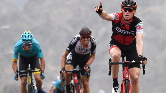 Belg Hermans schrijft tweede etappe Ronde van Oman op zijn naam
