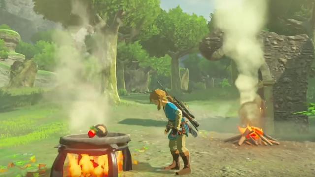 Trailer toont koken in nieuwe Legend of Zelda