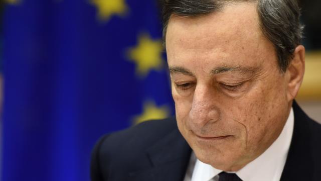 ECB-baas Mario Draghi komt naar Tweede Kamer