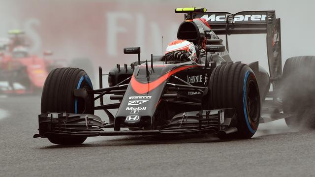 Alonso en Button starten wegens gridstraf achteraan in Mexico
