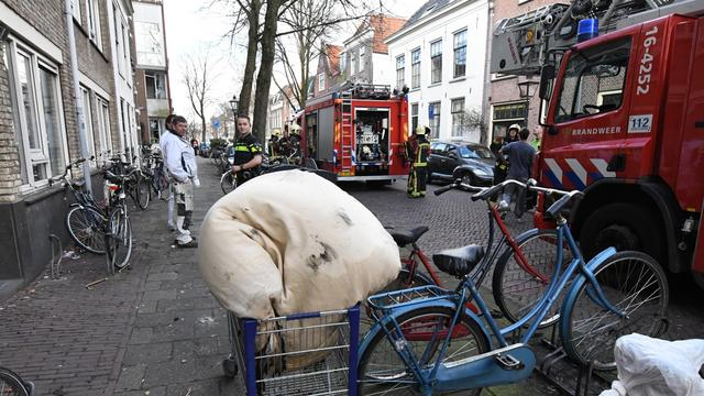 Studentencomplex ontruimd na brand door peuk in bed