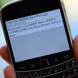 Vorig jaar 23 Amber Alerts verstuurd voor vermiste kinderen