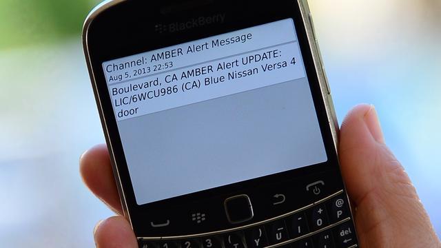 Vorig jaar 23 alerts verstuurd voor vermiste kinderen