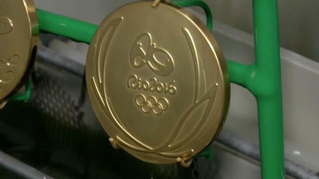 Zo worden olympische medailles gemaakt