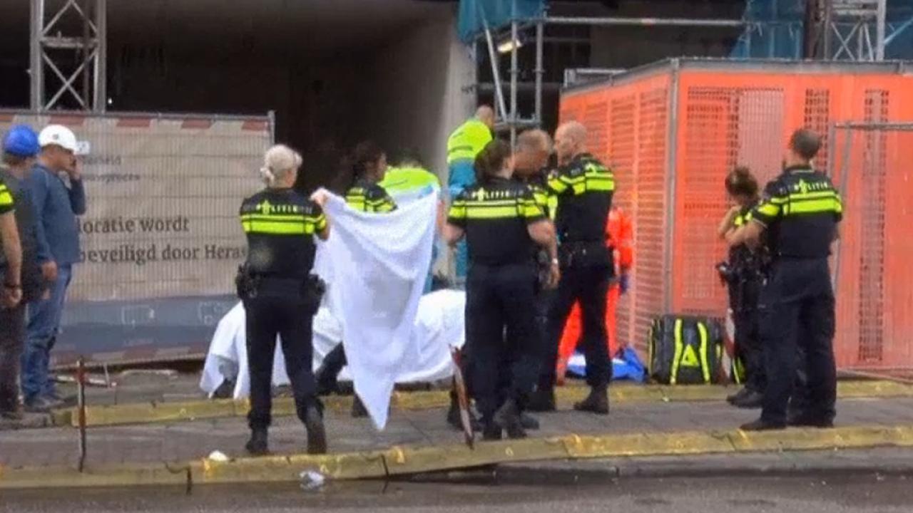 Bouwvakker gewond bij ongeval