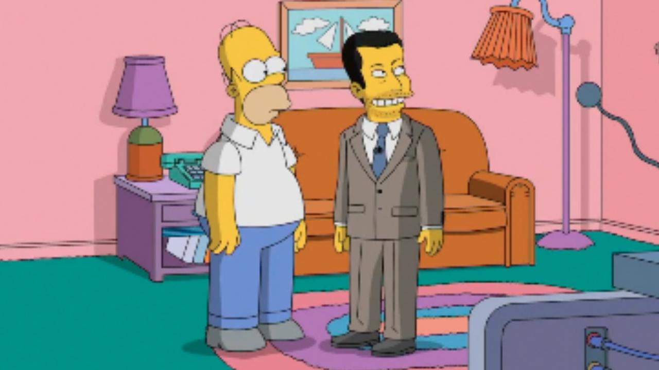 Jimmy kimmel krijgt rondleiding door springfield van homer - Homer simpson nu ...