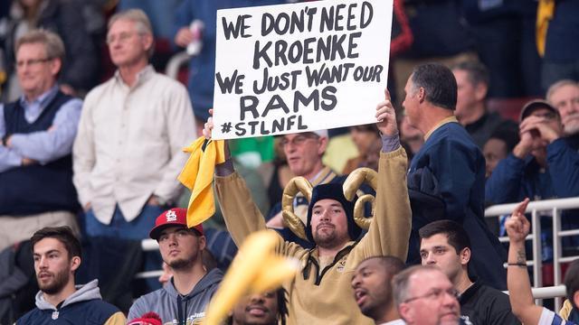 NFL keurt verhuizing Rams van St. Louis naar Los Angeles goed