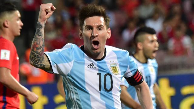 Argentinië nipt te sterk voor Chili in WK-kwalificatie