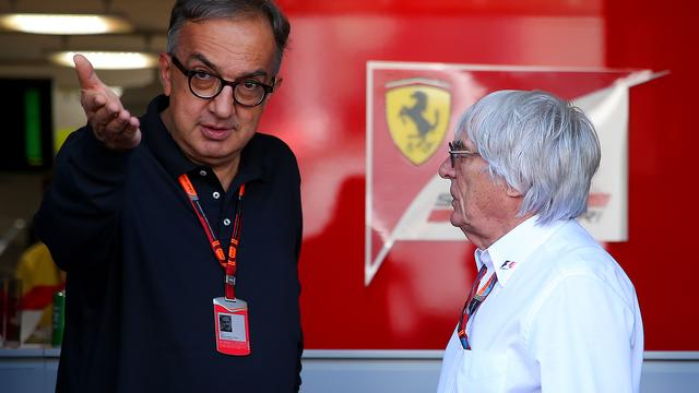 Ferrari-baas Marchionne verwacht snel overwinningen van zijn team