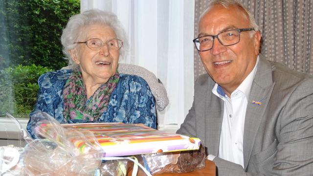 Nellie Rombouts-Hermus viert 101e verjaardag