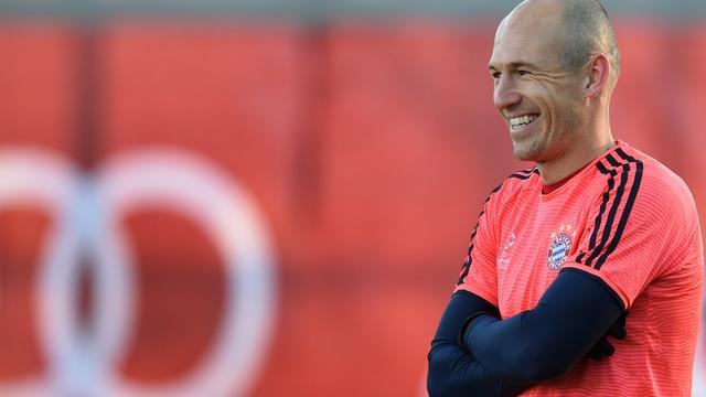 Robben doet weer mee met groepstraining Bayern München