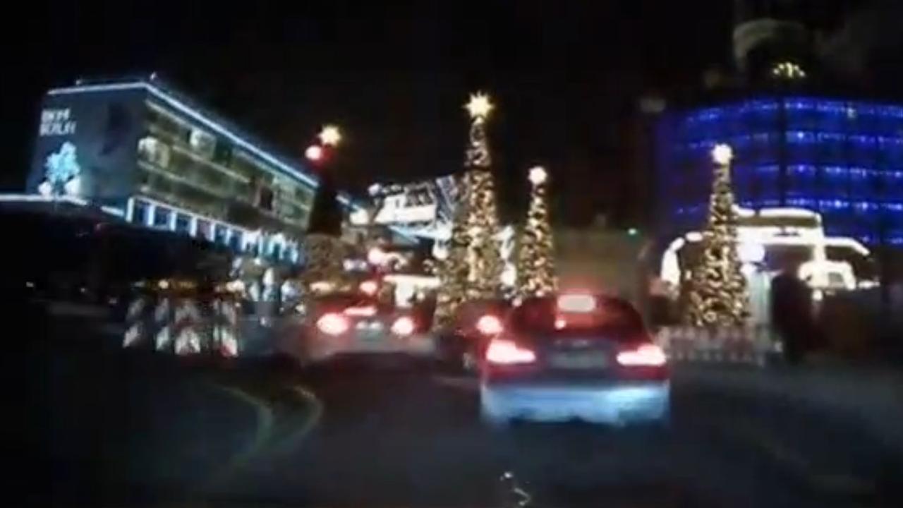 Aanslag kerstmarkt Berlijn vastgelegd door dashcam