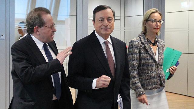 'Inflatie in eurozone kan weer negatief worden'