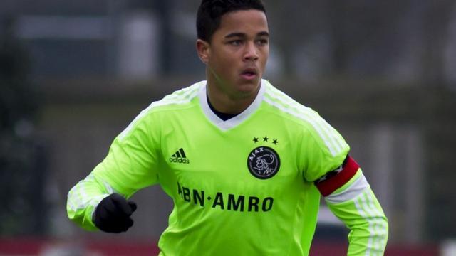 Zoon Patrick Kluivert bereikt akkoord met Ajax over contract