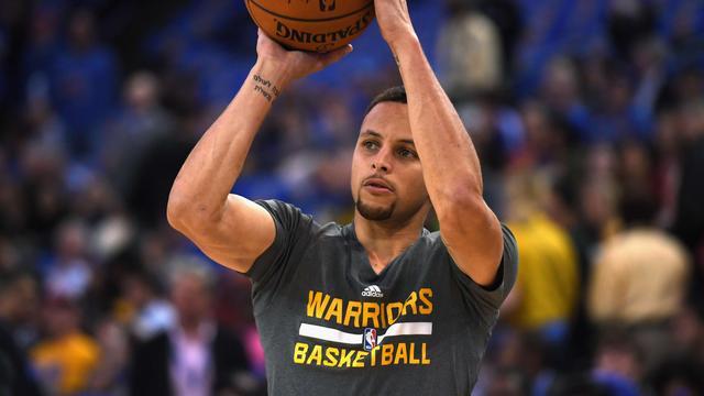 Warriors moeten sterspeler Curry zeker twee weken missen