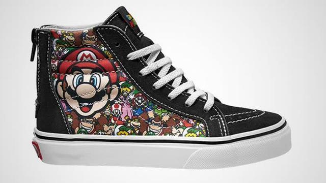 Vans gaat Nintendo-sneakers maken