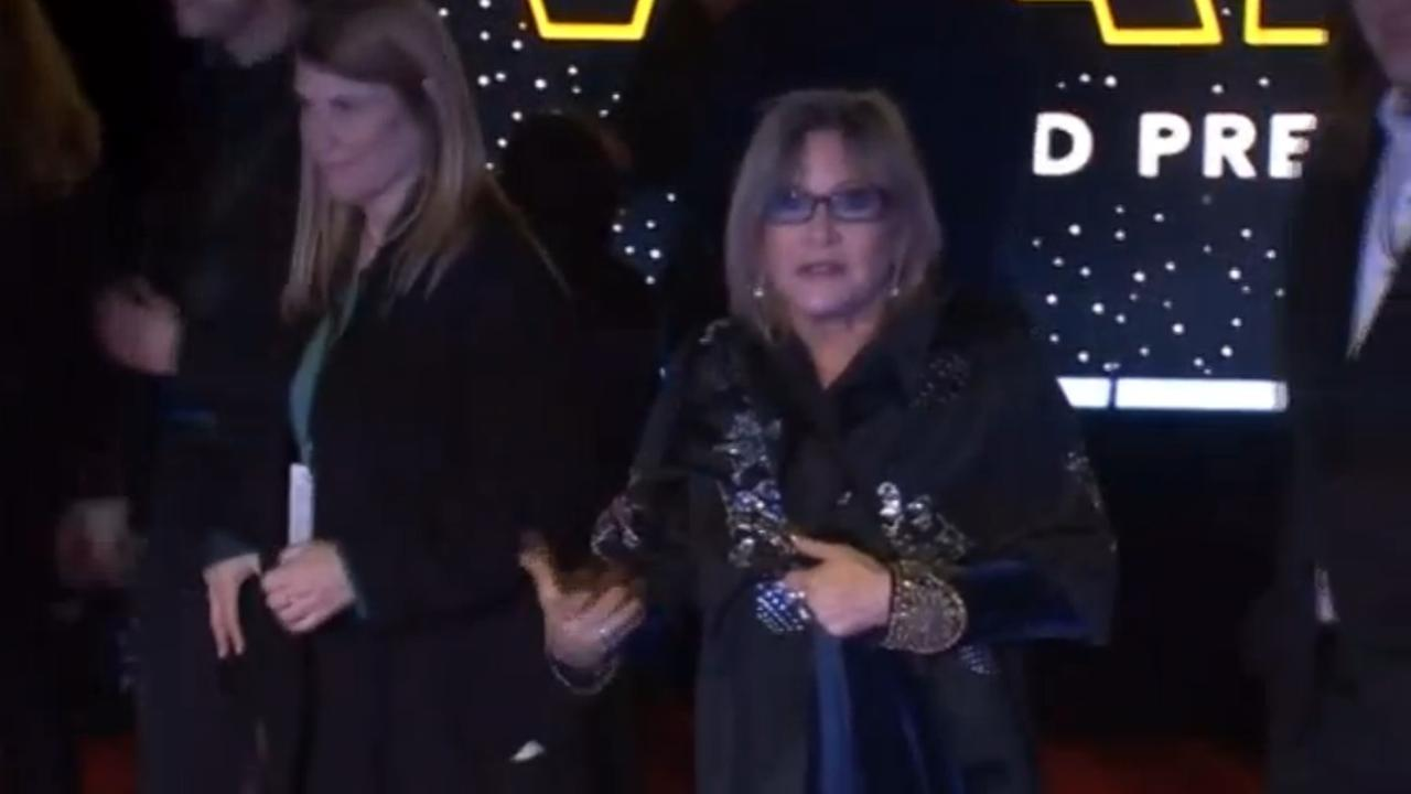 Star Wars-actrice Carrie Fisher overleden